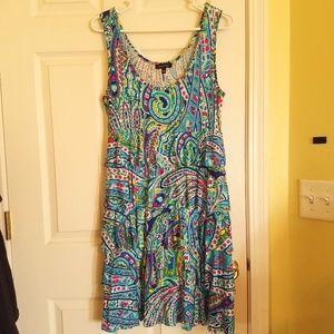 Spense Multi Color Dress Size Medium NWOT